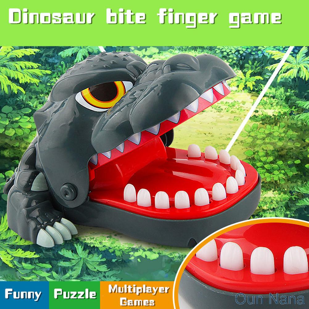 Oun Nana Dinosaur Dentist - Dinosaur bite finger game For Kids - 1 to 4 Players - Ages 4 and Up