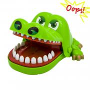 Oun Nana (4.92 X 3.94 X 2.56 in) Crocodile Biting Finger Game Funny Toys for Kids 1 to 4 Players - Ages 4 and Up