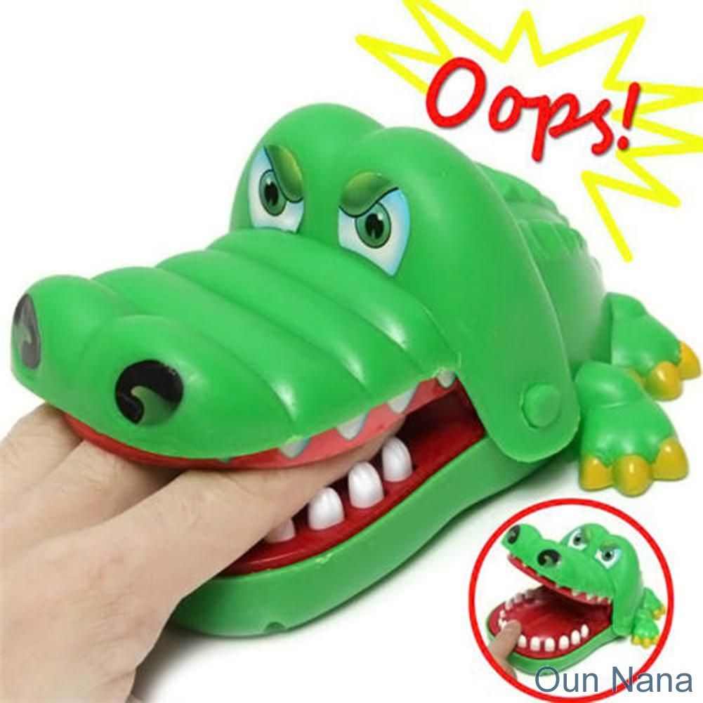 Oun Nana Crocodile Dentist Biting Finger Game Funny Toy Gift Toys For Kids 1 To 4 Players Ages And Up
